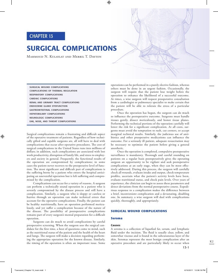 Sabiston Textbook of Surgery, 19th Edition. Sample Chapter 13
