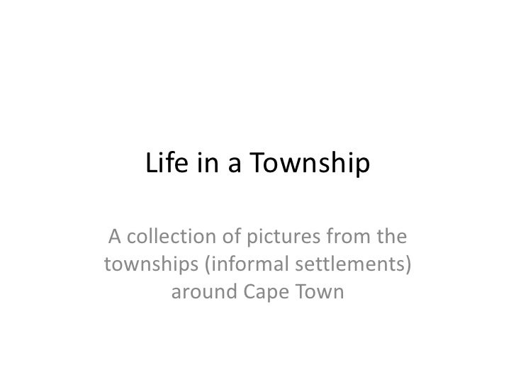 Life in a Township<br />A collection of pictures from the townships (informal settlements) around Cape Town<br />