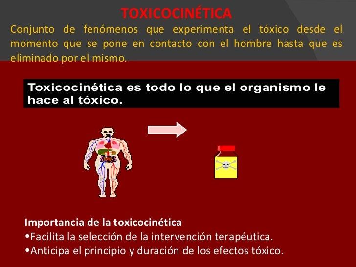 Toxicocinética y toxicodinámia