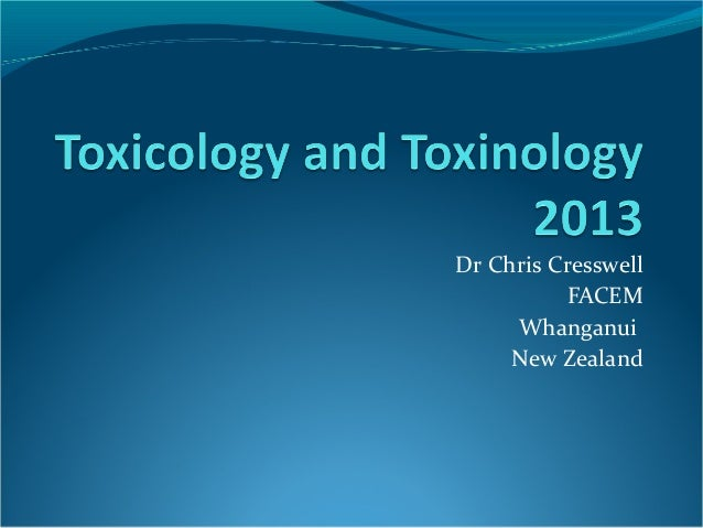 Dr Chris CresswellFACEMWhanganuiNew Zealand