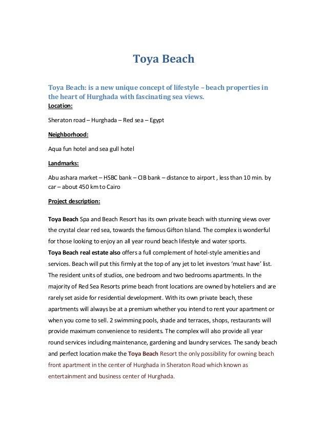 Toya Beach Resort - Hurghada -