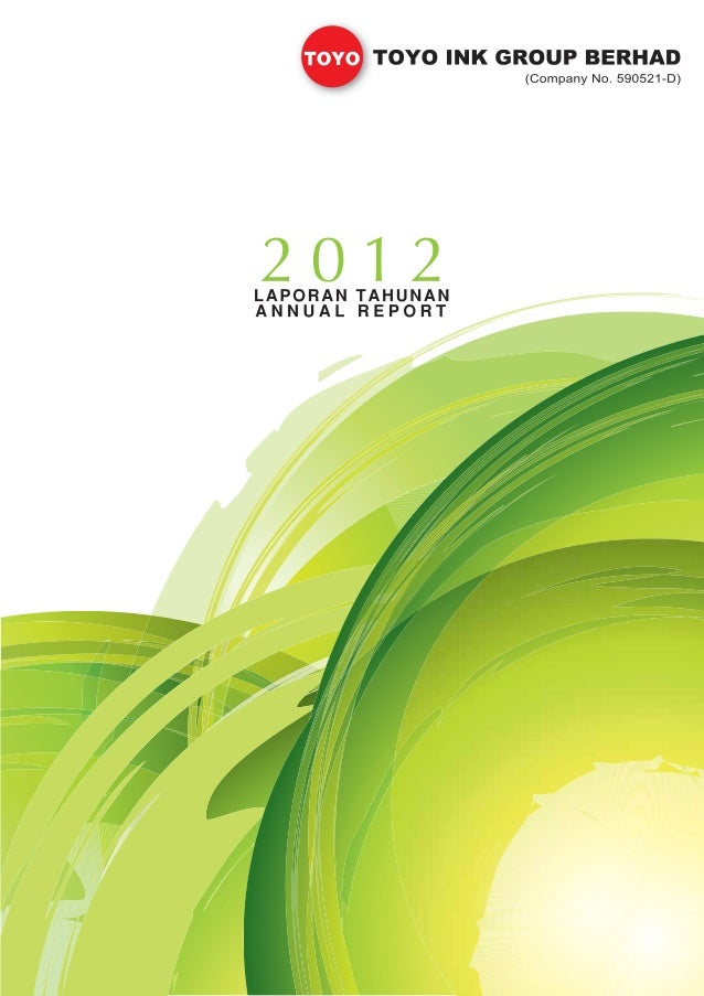 Toyoink annual report 2012
