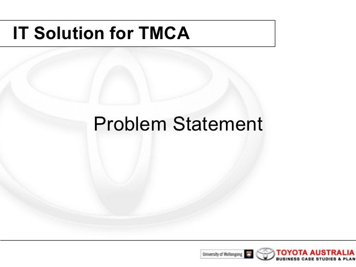 toyota problem statement Forgot username or password no problem,  account number or user name if you know your account number or can find it on your card or monthly statement,.