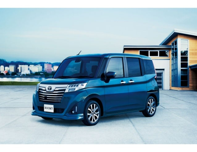 Cool Back To Story Toyota Roomy And Tank Minivans Launched In Japan