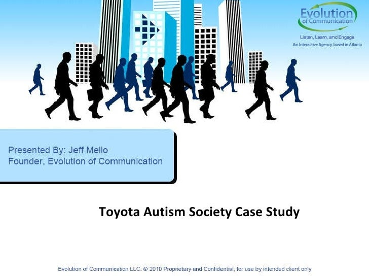 Toyota Autism Society Case Study