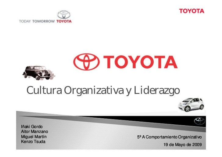 Toyota Motor Corporation Organigrama