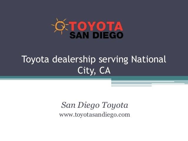 Toyota dealership serving National City, CA