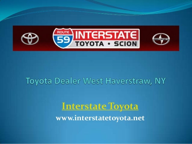 Toyota Dealer West Haverstraw, NY