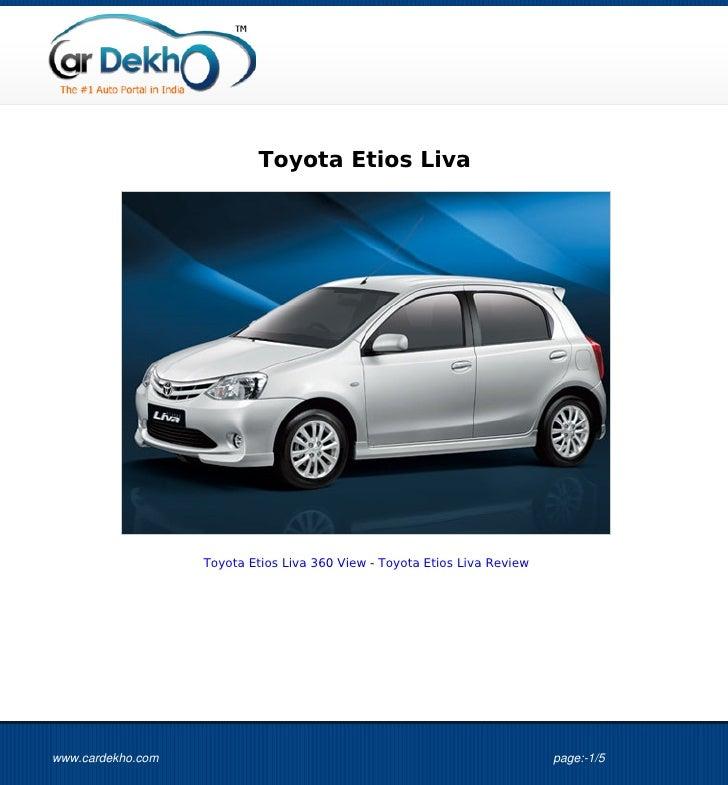 Toyota Etios Liva                   Toyota Etios Liva 360 View - Toyota Etios Liva Reviewwww.cardekho.com                 ...