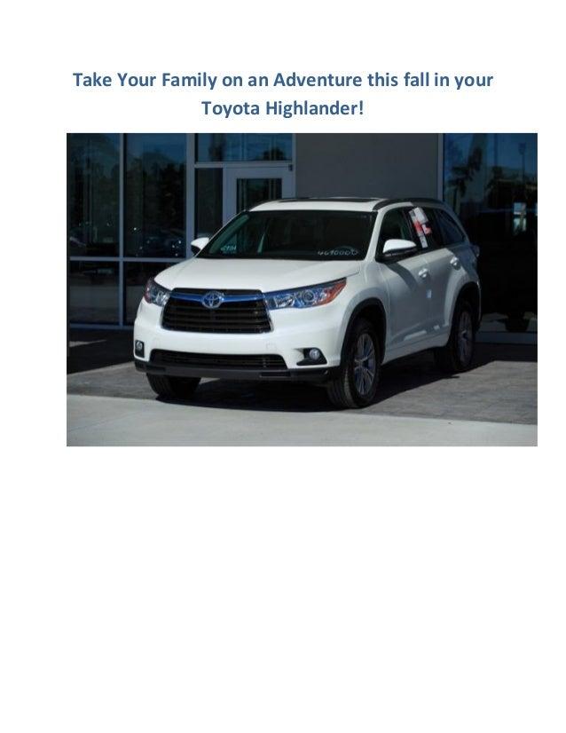 2014 Toyota Highlander Brings Family Adventures!