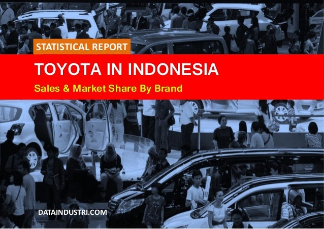 TOYOTA IN INDONESIA Sales & Market Share By Brand DATAINDUSTRI.COM STATISTICAL REPORT