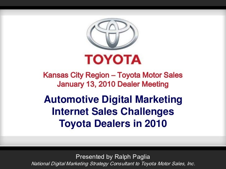 Toyota Kansas City Region Dealer Summit - 2010