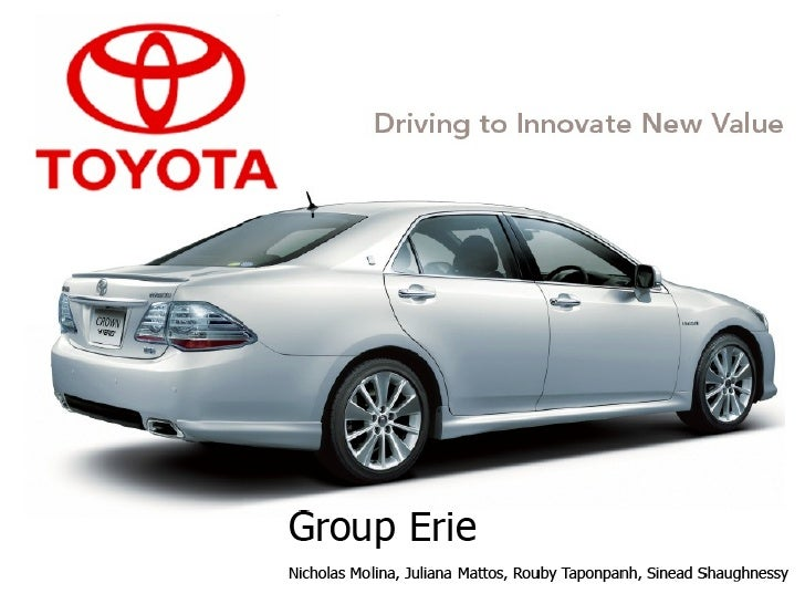 marketing strategy at toyota motor corporation Sample of business and marketing strategy - toyota case toyota motor corporation, which is abbreviated as tmc, is a japan based company that deals in automobiles and has its headquarters in aichi, japan.
