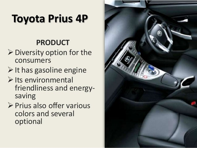 toyota prius case study 96 company cases part two | understanding the marketplace and consumers chapter 5 company case prius: leading a wave of hybrids americans love their cars.