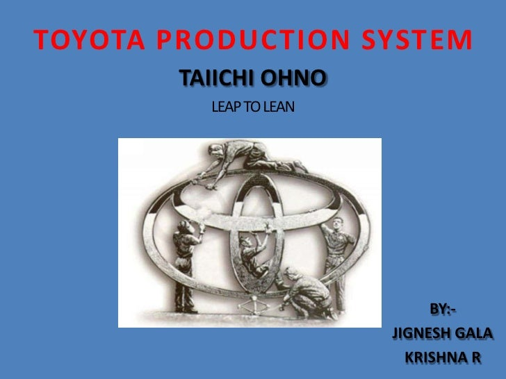 taiichi ohno toyota production system pdf