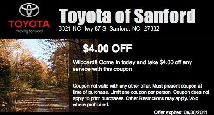 Toyota Service Discount NC | Toyota Dealer near Raleigh