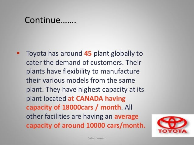 Toyota case study answers