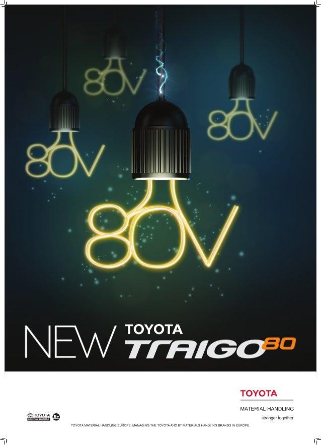 Discover TMHE's Productive Toyota Traigo 80 Forklift