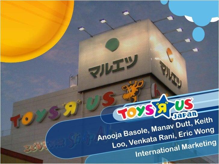 AnoojaBasole, ManavDutt, Keith Loo, Venkata Rani, Eric Wong<br />International Marketing<br />