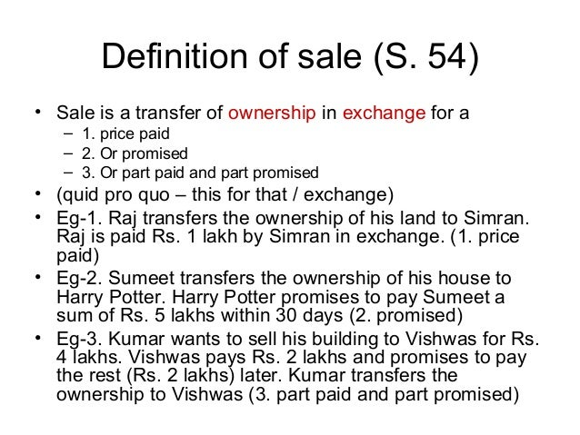 Term for sale