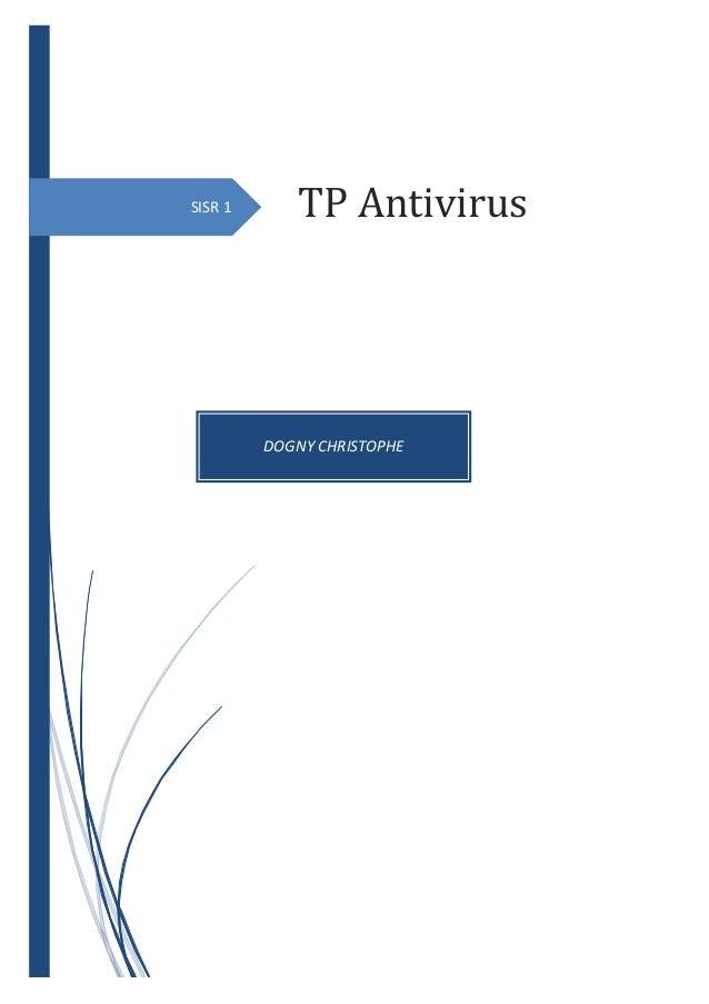 SISR 1 DOGNY CHRISTOPHE TP Antivirus