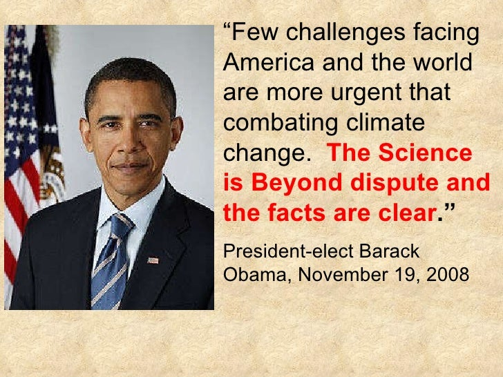 What are some obstacles Obama faces in combating global warming?