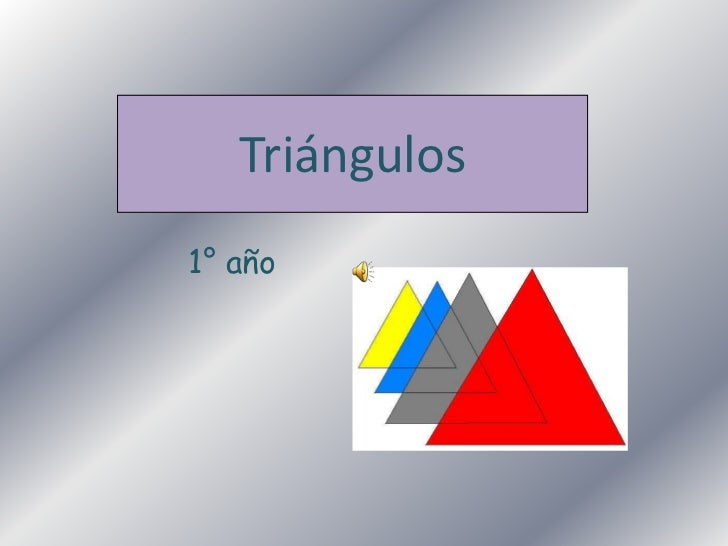 Triángulos1° año