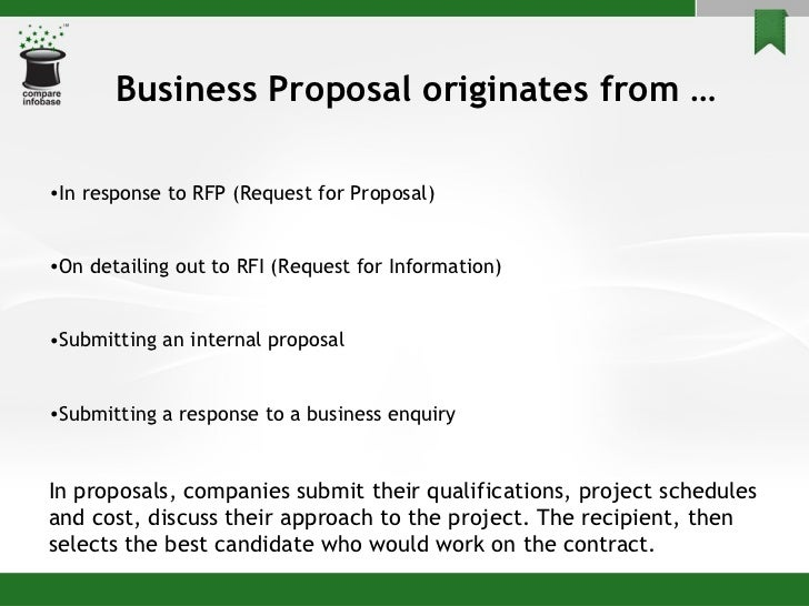 How to make business proposal