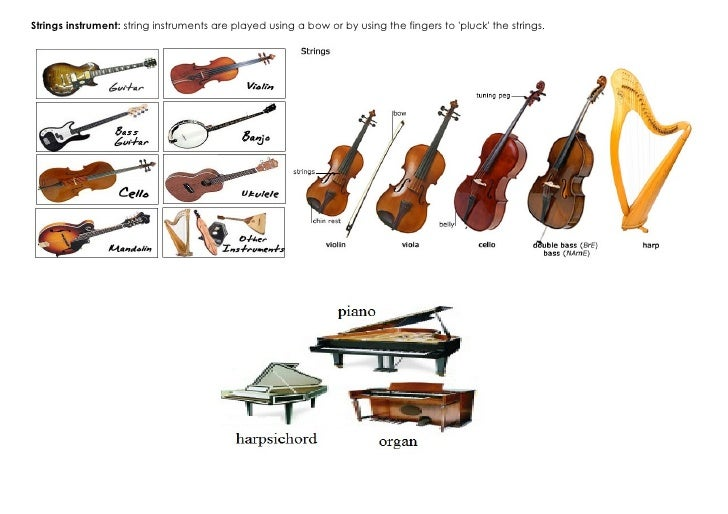 Homework help world musical instruments