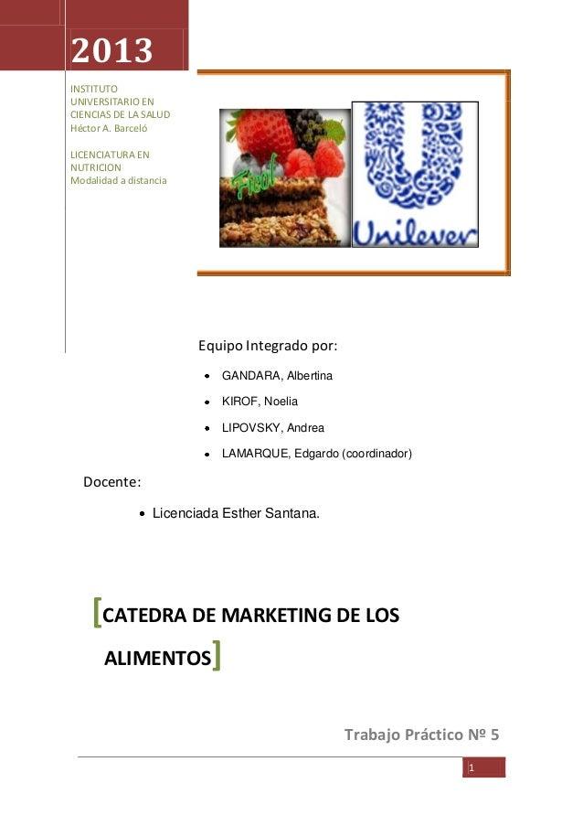 [Escribir texto] 1 Equipo Integrado por: GANDARA, Albertina KIROF, Noelia LIPOVSKY, Andrea LAMARQUE, Edgardo (coordinador)...
