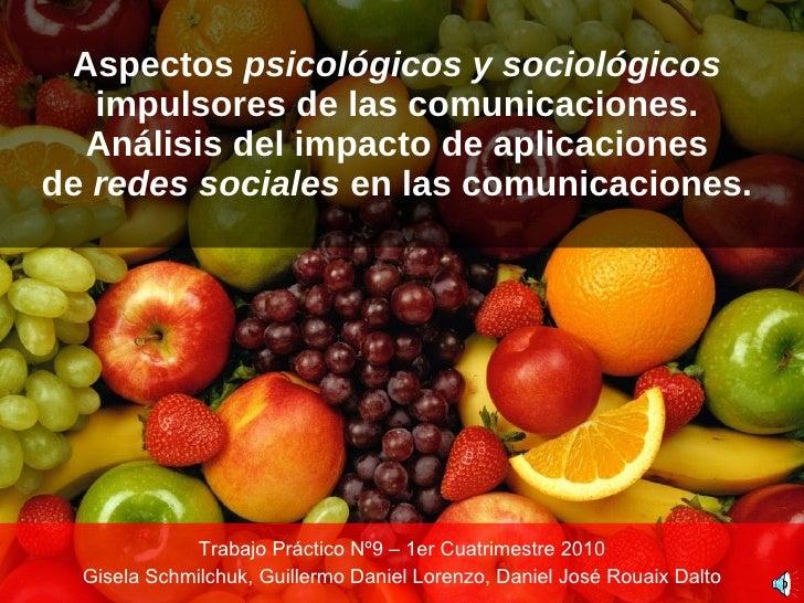 Sistemas de Comunicaciones - 2010TP9G3