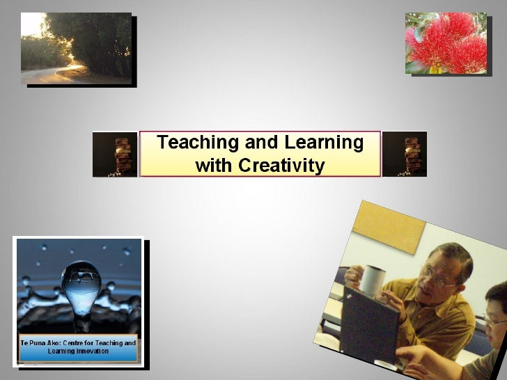 Thoughts around Creativity in Education and the Potential of ICT Enhanced Learning and Teaching