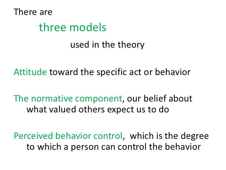 theory of planned behaviour tpb psychology essay This study reports an application of the theory of planned behaviour (tpb)  of the theory of planned behavior (tpb),  of sport and exercise psychology,.