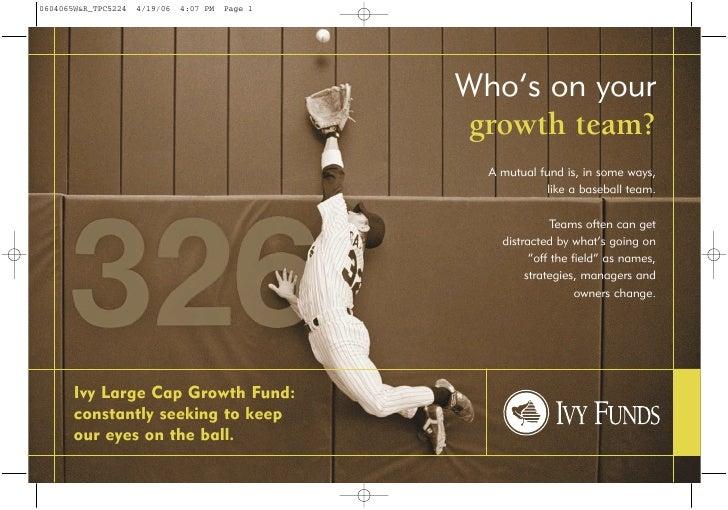 Tpc5224(04 06) Ivy Lcg Postcard  Growth Team