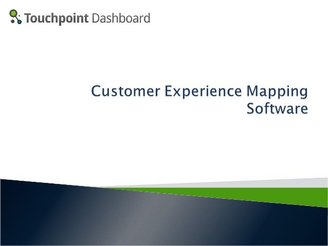 Touchpoint Dashboard provides the world's first web-based SaaS application designed to give companies the ability to easil...