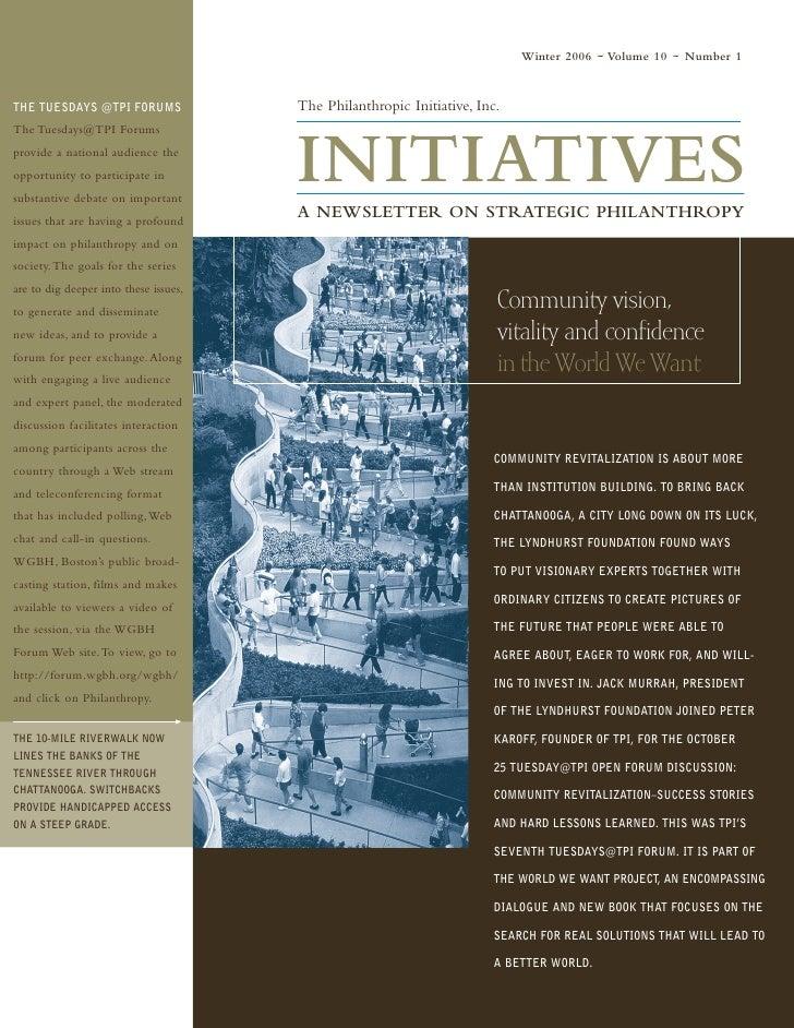 Tpi Initiatives