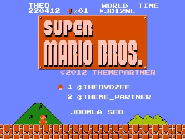 Joomla! SEO (with Super Mario) [Dutch]
