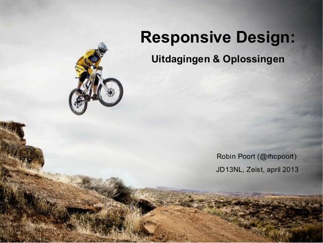 Responsive Design: Uitdagingen en Oplossingen