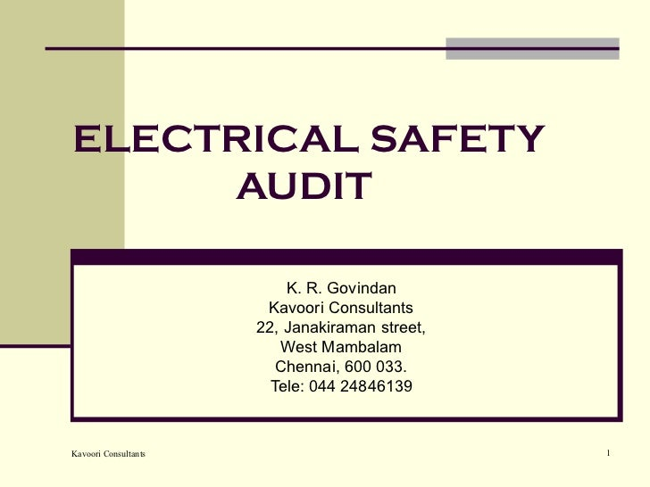 Tpl electrical safety230311