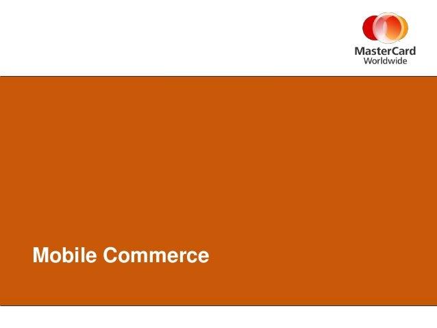 Tpma m commerce - march 26 2013