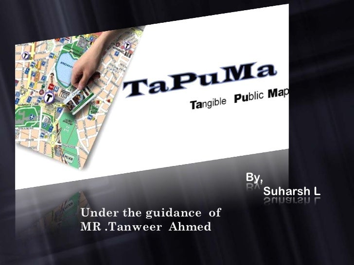 By,                           Suharsh LUnder the guidance ofMR .Tanweer Ahmed