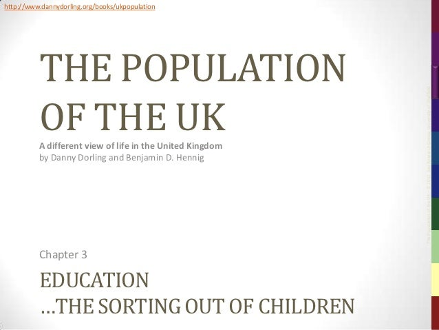 The Population of the UK, Chapter 3