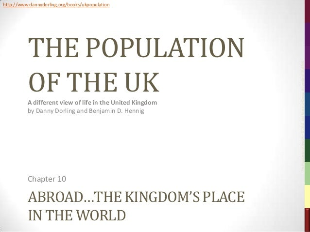 The Population of the UK, Chapter 10