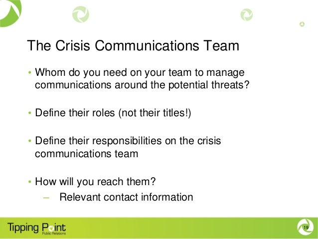 role of public relations in crisis management pdf