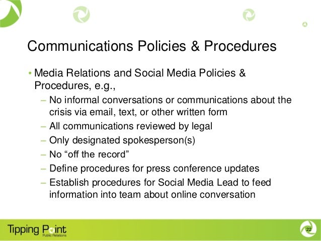 policy and procedure conferences download