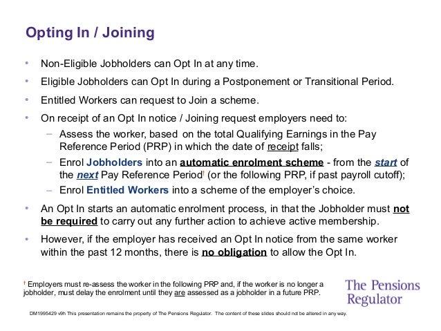 Pension Regulator Template Letters Auto Enrolment