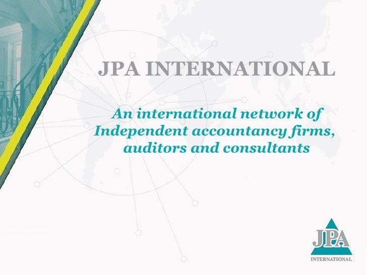 JPA International Highlights
