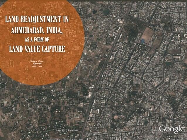Land adjustment Land value capture