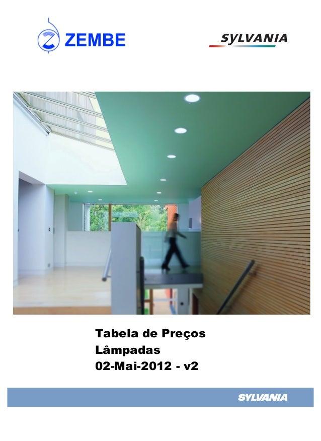 Tabela de PreçosLâmpadas02-Mai-2012 - v2