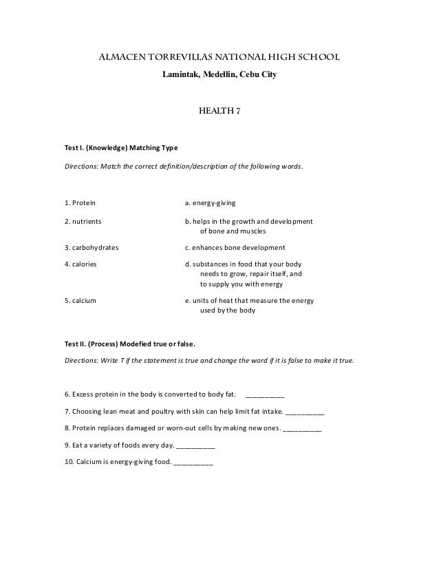 Science Tests For  th Graders    th grade science fair topics     FAMU Online